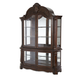 AICO Windsor Court Curio in Vintage Fruitwood 70505-54