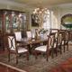 AICO Villagio 9-pc Rectangular Dining Table Set