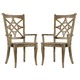 Hooker Furniture Mélange Rafferty II Side Chair (Set of 2) 638-75146-LTBR
