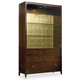 Hooker Furniture Skyline Display Cabinet in Cathedral Cherry 5336-75908