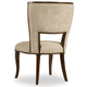 Hooker Furniture Skyline Upholstered Side Chair in Cathedral Cherry (Set of 2)