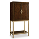 Hooker Furniture Skyline Bar Cabinet in Cathedral Cherry 5336-75160