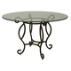 Pastel Furniture Atrium Dining Table in Autumn Rust AT-514