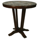 Pastel Furniture Devon Coast Round Pub Table in Distressed Cherry DC-520-DC