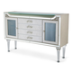 Aico Bel Air Park Sideboard with Lights in Champagne 9002007R-201