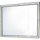 Aico Bel Air Park Wall Mirror in Champagne 9002260-201