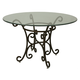 Pastel Furniture Verdugo Dining Table in Autumn Rust VD-510-AR