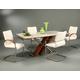 Pastel Furniture Akasha 5 pcs Dining Table Set in Walnut CH-512-7038-AK-117-WA