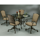 Pastel Furniture Atrium 5 pcs Dining Set in Autumn Rust AT-514-4819-AT-160