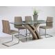 Pastel Furniture Quanto Basta 5 pcs Dining Set in Sonoma QB-512-3878-QB-110