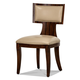 Aico Cloche Side Chair in Bourbon (Set of 2) 10003-32