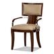 Aico Cloche Arm Chair in Bourbon (Set of 2) 10004-32