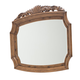 Aico Excursions Sideboard Mirror in Caramel Cashmere 9081067-109