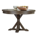 Liberty Furniture Bayside Crossing Round Dining Table in Washed Chestnut 185-4848