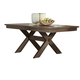 Liberty Furniture Bayside Crossing Trestle Table in Washed Chestnut 185-4078