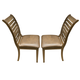 Liberty Furniture Bayside Crossing Upholstered Side Chair in Washed Chestnut (Set of 2) 185-C2001S