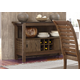 Liberty Furniture Bayside Crossing Server in Washed Chestnut 185-SR5236