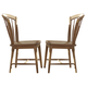 Liberty Furniture Candler Windsor Side Chair in Nutmeg (Set of 2) 223-C1000S