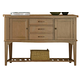 Liberty Furniture Candler 3 Drawer Server in Nutmeg 223-SR5638