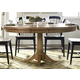 Liberty Furniture Candler 5pc Round Pedestal Dining Set in Nutmeg