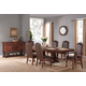 Fairfax Home Furnishings Casa del Mar 7-Piece Trestle Dining Set