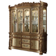 Acme Vendome Buffet and Hutch in Gold Patina 63005 SPECIAL