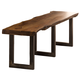 Hillsdale Furniture Emerson Bench in Natural Sheesham