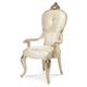 Aico Platine de Royale Arm Chair in Champagne (Set of 2) 09004-201