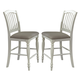 Liberty Furniture Cumberland Creek Slat Back Counter Chair in Nutmeg/White (Set of 2) 334-B150124