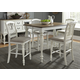 Liberty Furniture Cumberland Creek 7pc Geathering Dining Set in Nutmeg/White