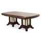Aico Platine de Royale Rectangular Wood Dining Table in Light Espresso 09002-229