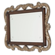 Aico Platine de Royale Wall Mirror  in Light Espresso 09260-229