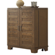 Liberty Furniture Pebble Creek Wine Cabinet in Weathered Butterscotch 376-WC3742