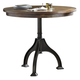 Liberty Furniture Arlington House Round Gathering Table in Cobblestone Brown 411-GT4242