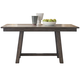 Liberty Furniture Stone Brook Trestle Table in Rustic Saddle 466-T3660