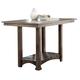 Liberty Furniture Stone Brook Kitchen Island in Rustic Saddle 466-IT3660