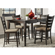 Liberty Furniture Pebble Creek II 5pc Gathering Set in Weathered Tobacco