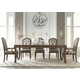 Liberty Furniture Amelia 7pc Rectangular Dining Set in Antique Toffee