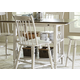 Liberty Furniture Oak Hill Center Island Table in Tan Smoke/White 517-IT5454