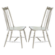 Liberty Furniture Oak Hill Windsor Back Side Chair in Tan Smoke/White (Set of 2) 517-C1001S EST SHIP TIME IS 4 WEEKS CODE:UNIV20 for 20% Off
