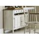 Liberty Furniture Oak Hill Server in Tan Smoke/White 517-SR5036