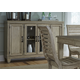 Liberty Furniture Grayton Grove Buffet in Driftwood 573-CB6042