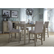 Liberty Furniture Grayton Grove 5pc Gathering Dining Set in Driftwood