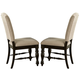 Liberty Furniture Southern Pines Upholstered Side Chair in Bark (Set of 2) 818-C6501S