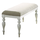 Liberty Furniture Summer House Bench in Oyster White 607-C9001B