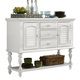 Liberty Furniture Summer House Server in Oyster White 607-SR5239