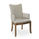 Somerton Sophisticate Arm Chair in Beach House Beige (Set of 2) 805-46