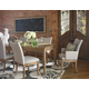 Somerton Sophisticate 7pc Leg Dining Set in Beach House Beige