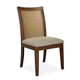 Somerton Claire de Lune Cane Side Chair in Toasted Nutmeg (Set of 2) 801-36