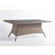 South Sea Rattan Del Ray Outdoor Rectangular Dining Table in Chestnut 76619